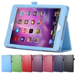 Wholesale Ipad Book Stand Case - uxury Book Flip Leather Case For Apple iPad 2 3 4 Tablets Notebook Accessories Stand Holder Sleeve Cover Magnetic For iPad2 3 4 ipad air