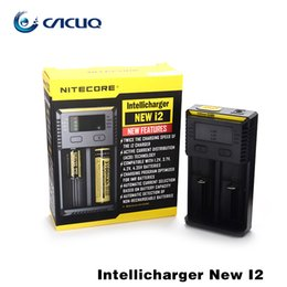 Wholesale Multi Chargers - Original Nitecore I2 I4 Universal Intellicharger Charger for 18650 14500 16340 26650 Battery E Cigarette Multi Function