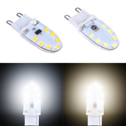 Wholesale Colored Spotlights - Wholesale- G9 LED Lamp 220V 5W LED G9 Bulb Lighting Dimmable Crystal Silicone 360 Degree Living Room Spotlight Bulb FULI