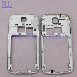 Wholesale Galaxy Volume Button - 10pcs lot Middle Plate Frame Bezel housing with volume and Power button for Samsung Galaxy S4 I545 L720 R970