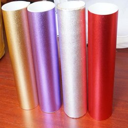 Wholesale Vinyl Frosting - Plating Chrome Frosted Matte Flash Point Glitter Car Body Color Changing Vinyl Film Sticker with Air Channel 1.52*30m with Free Gift Scraper