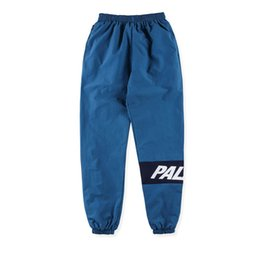 Wholesale Black Pencil Trousers - Brand Clothing PALACE Skateboards Pant Men Hip hop Streetwear Waterproof Jogger Pants Outdwear Casual Loose Baggy Trousers S-XL
