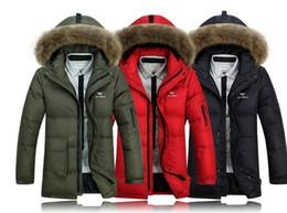 Wholesale Men Color Winter Type - Fall-Hot!Free shipping !!New winter ultra-thin type of fertilizer plus-size men's down jacket Punchinello double down 6 xl men coat