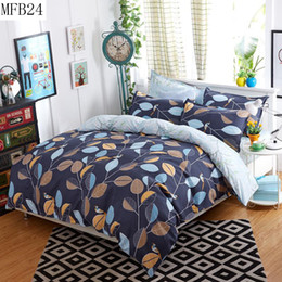 Wholesale Sheets Lowest Price - Wholesale-Bedding set 4 pcs sell at a low price contain pillowcase duvet cover bed sheet twin full queen king size