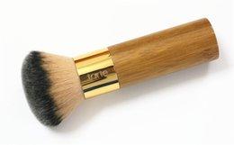 Wholesale Airbrush Free - Tarte the buffer airbrush finish bamboo foundation brush High Quality Makeup Brushes DHL Free shipping