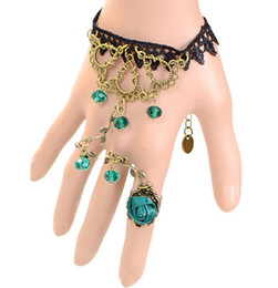 Wholesale Cheap Wholesale Vintage Clothing - 2016 New Wholesale cheap vintage fashion sexy lace complex Guge Te mysterious lace bracelet clothing accessories jewelry