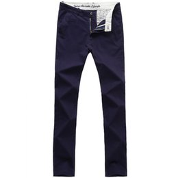 Wholesale Flat Front Pants - Wholesale-New Arrivals Men's VaLS Brand Fashion Casual Slim-fit Flat Front Long Pants Men's Spring  Autumn Casual Trousers