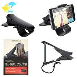 Wholesale Cradle Designs - Universal Car Mount Holder Simulating Design Car Phone Holder Cradle Adjustable Dashboard Phone Mount for Safe Driving