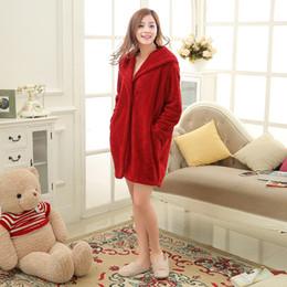 Wholesale Plush Horns - Wholesale- Hooded Plush Tracksuit Pijama Pyjamas Women Truien Horn Button Sleepwear Pijamas Mujer Sleep Top Robe Bathrobe Pyjama Femme