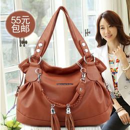Wholesale Mail Light - 2016 new Korean fashion ladies handbag shoulder bag special offer fold portable bag mail package Su tide tide