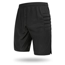 leichtathletik-shorts männer Rabatt Mode Herren Pullover Trikots Fußball Langarm-Shirt Kurze Hosen Athletisch Erwachsene Fußball Jersey Torwart Trainning Kleidung