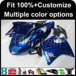 Wholesale Honda Blackbird Fairings - 23colors+8Gifts Injection mold blue flames 1997 1998 1999 2000 2001 2002 2003 CBR1100XX 97-03 Blackbird motorcycle Fairing for Honda kit