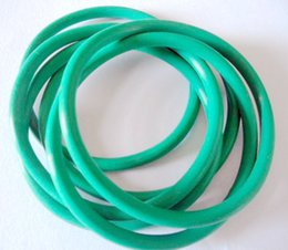 Wholesale Viton Rubber - hot sale free shipping high quality wholesale different size Green Viton O Ring cross section 1mm OD35-40mm for sealing