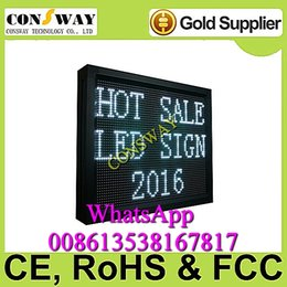 """Wholesale Electronic Advertising - Free shipping and CE approved advertising led electronic panel sign with size 28.3""""*22"""" and RGB color"""