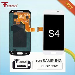 Wholesale I337 Lcd White - Original LCD Display Touch Screen & Digitizer Assembly for Samsung Galaxy S4 i9500 i9505 M919 L720 i545 R970 i337 White Blue