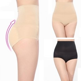 Wholesale Buttocks Size - Hot Beauty Slim Body Shaper Underwear High Waist Transparent Background Abundant Buttocks Charming Sexy Control Pants Female 3 sizes