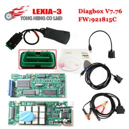 Wholesale Diagbox Software - Wholesale-Best lexia3 diagbox 7.76 software Lexia3 V48 for Citr-oen Pe-ugeot Diagnostic PP2000 V25 Lexia Diagnostic Scanner Free Shipping