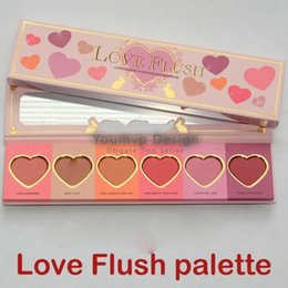 Wholesale Wardrobe New Arrival - New arrival Face Blush Love Flush Long Lasting 16-hour Blush Wardrobe Palette Six Shades in stock