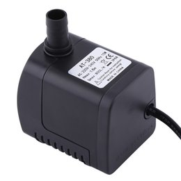 submersible fountain pumps Coupons - 1Pc Aquarium Fountain Water Pump Plastic 220V 15W 800L H Fountain Air Fish Tank Aquarium Water Submersible Pump