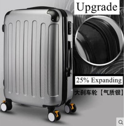Wholesale 24 Spinners - Brand 20 inch 22 24 inch Rolling Luggage Suitcase Boarding Case travel luggage Case Spinner Cases Trolley Suitcase wheeled Case