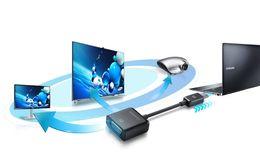 """Adaptateur dongle VGA d'origine pour Samsung AA-AV2N12B 118mm 4.7 """"pour Ativ Book Series 9 900X 905S3G 915 940X3G 910S3G ATIV Book 9 Plus ? partir de fabricateur"""