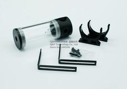 Ordinateur à cylindre en Ligne-Gros-110mm cylindre réservoir d'eau ordinateur réservoir de refroidissement de l'eau corps PMMA avec couvercle POM. YSX-PMA11
