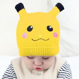 Wholesale Knit Hats For Kids - Baby Hat Winter Hat Xmas Gift Kids Knitting Cap Kids Girl Boy Winer Knitted Hats Caps For Childen