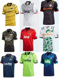 Wholesale Flashing Sizes - 2018 Blues Super Rugby Away Jersey Free Shipping Top Thai quality New Zealand super rugby Blues size S--3XL TONGA RUGBY