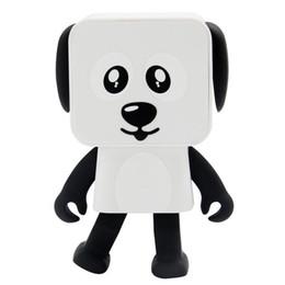 DHL 2018 Mini Bluetooth Haut-Parleur Intelligent Danse Chien jouet Haut-parleurs Nouveau Multi Portable Bluetooth Haut-Parleurs Haut-Parleur Creative Cadeau jouets ? partir de fabricateur