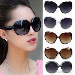 Wholesale Wholesale Cat Eye Frames - Free Shipping Women Ladies Fashion Sunglasses Summer Black Oversized PC UV Sun glasses Gx6
