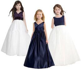 The New Girl Dress детские свадебные платья для девочек-цветочниц Принцесса Age of Bitter Fleabane Горькая юбка Fleabane Вечернее платье на день рождения от Поставщики золотые шарики