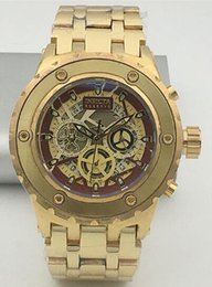 Wholesale Big Bang Watch Strap - 2017 invicta Best Halloween men birthday gift Quality Big Bang Dials Luxury Styles Mens Watches Quartz Watch Silicone Straps