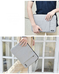 Wholesale Canvas Tablet Cover Inch - 1pcs Waterproof Crushproof Notebook Computer Laptop Bag Laptop Sleeve Case Cover For 8 9 10 11 12 13 14 15.6 inch Laptop&Tablet