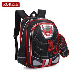 4d75129693e Discount kids backpacks spiderman - Cartoon Spiderman Orthopedic School Bags  Waterproof Children School Backpack for Kids