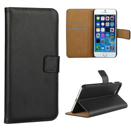 Wholesale Iphone 5s Flip Cases Leather - For Iphone 7 8 Wallet Case PU Leather Flip Stand Wallet Phone Case For Iphone 6 7 8 plus 5S Samsung S7 Edge S7 S6 Edge S6 S5 S8 Plus S8