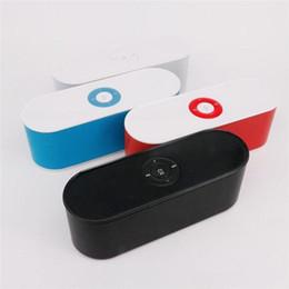 Altoparlanti Bluetooth di S207 Altoparlanti portatili di Skateboard del grande altoparlante di Subwoofer dell'altoparlante senza fili del grande suono di buona qualità Trasporto libero DHL da
