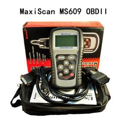 Wholesale Bmw Distributor - Top Autel Authorized Distributor OBDII EOBD autel ms 609 scanner MaxiScan MS609 Car Vehicle Engine Fault Diagnostic Scanner Tool