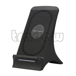 Wholesale galaxy docking station - Fast Wireless Charger Charging Docking Station Stand for Samsung Galaxy S8 S8 Plus S7 S7 Edge S6 Edge+ Note 5