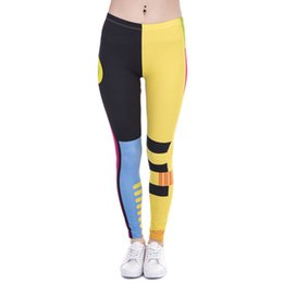 Wholesale Gold High Waist Leggings - New Fashion Women Leggings Unicorn And Sweets Printing leggins Fitness legging Sexy High waist Woman pants