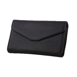 Wholesale S5q Cell Phone - S5Q Women's PU Leather Envelope Wallet Card Holder Handbag Phone Bag Long Purse AAAFUF