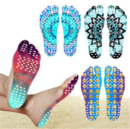 Wholesale feet protection shoes - Nakefit Adhesive Shoes Waterproof Foot Pads Stick On Soles Flexible Feet Protection Sticker Soles Shoes For Beach Pool