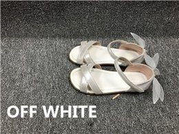 Wholesale Kids First Walker Shoes - lucus payment OFF WHITE (true to size) kids shoes baby first walkers any two pairs free dhl