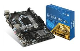 Wholesale Msi Mini - For MSI H110M PRO-VD Intel H110 LGA 1151 (Socket H4) Mini ATX motherboard 7996-007R