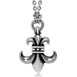 Wholesale Titanium Cross Wings Necklace - Angel wing Stainless Titanium Steel Crucifix Men Gift Items Cross Pendant Necklace Fashion Men Jewelry SP204
