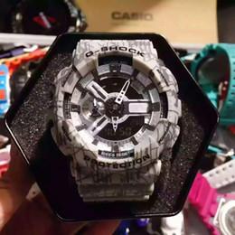 Wholesale Reloj Led Hombre - New Luxury Brand relogio box men's sports watches, Led Diver 200M men watch wristwatch, military watch,S Shock digital watch reloj hombre
