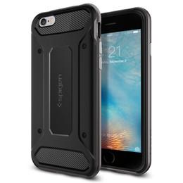 Canada Cas de téléphone portable spigen SGP pour iPhone x 8 8plus 7 7plus 6 / 6s plus 5 / 5s samsung s8 s8plus Case Neo Hybrid Carbon Offre