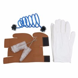 Wholesale Trumpet Clean - Wholesale- SLADE Trumpet Maintenance and Care Tool Kit Set Includes Trumpet Gloves + Cleaning Brushes + Protective Cover