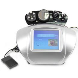 Wholesale tripolar skin - High Quality Weight Loss Ultrasonic Cavitation Slimming Machine With Bipolar Tripolar Sixpolar Radiofrequency Wrinkle Removal Skin Care
