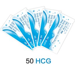 Wholesale Fda Pregnancy - Wholesale NEW Fishion Style 50 Pieces LOVEXOK Home Early Pregnancy Test Strips CE And FDA Free Shipping Fast