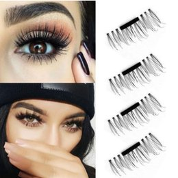 Wholesale Eye Lashes Extensions Glue - Magnetic Eye Lashes Natural False Magnet Eyelashes Extension Mixed 3D magnetic false False Magnet Eyelashes Extension magnetic no glue lash